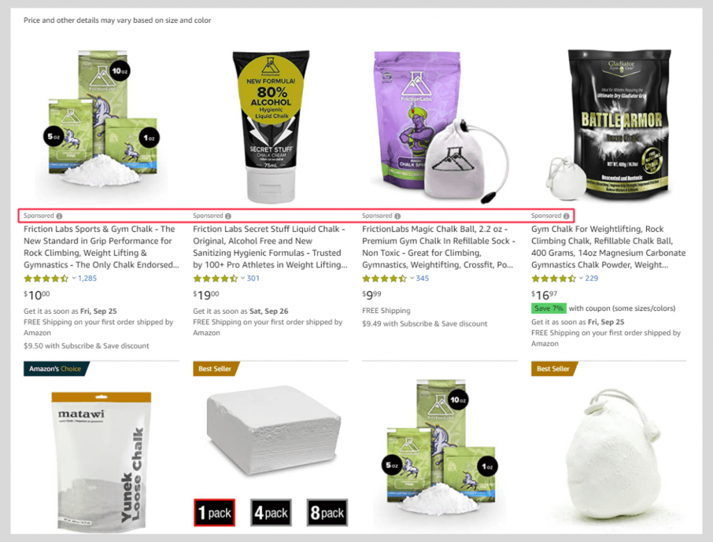 amazon sponsored product ads