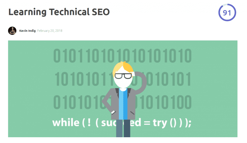 learning technical seo